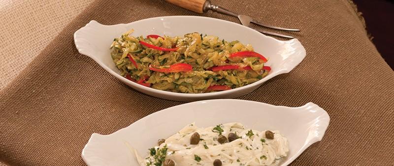 Grated Zucchini Salad