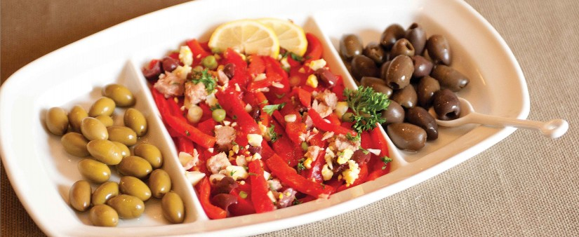 Turkish Roasted Pepper and Tuna Appetizer