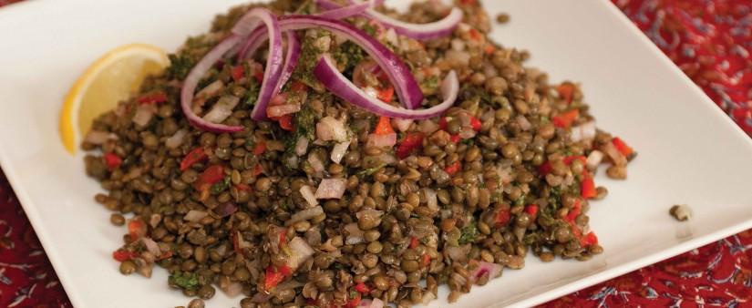 Provençal Green Lentil Salad
