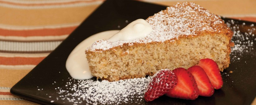 Walnut Cake with Olive Oil