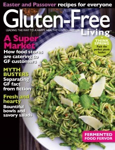 Gluten-Free Living March/April Cover