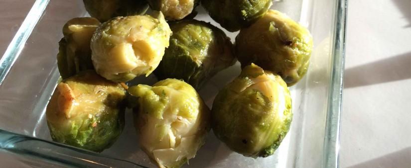 Lemon-Glazed Brussels Sprouts