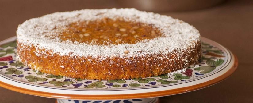 Carrot-Almond Cake