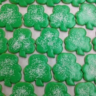 Gluten-Free Shamrock Cookies