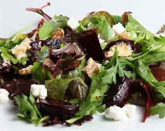 Beet, Feta & Walnut Salad