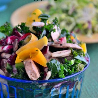 Ribbon Butternut Squash & Kale Salad