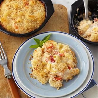 Gluten Free Lobster Mac & Cheese