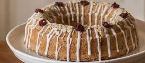 English Cherry Ring Cake