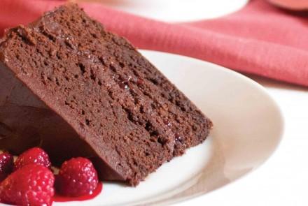 Gluten-free chocolate layer cake recipe