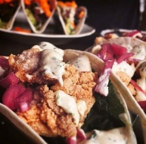 Gluten-Free Fried Chicken Tacos