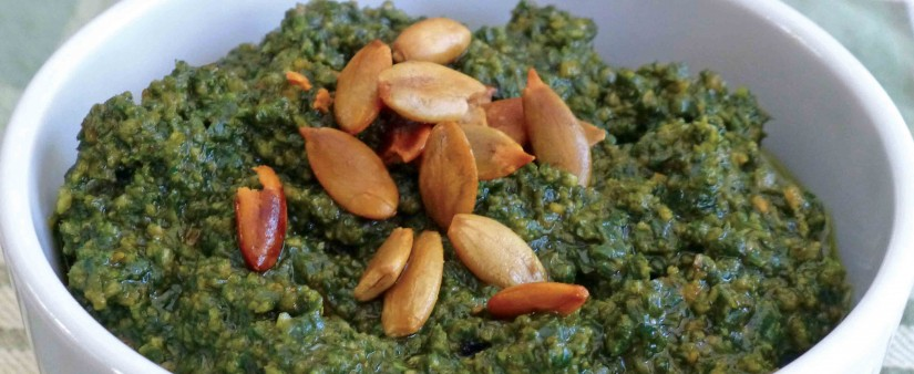 Pumpkin Seed Pesto