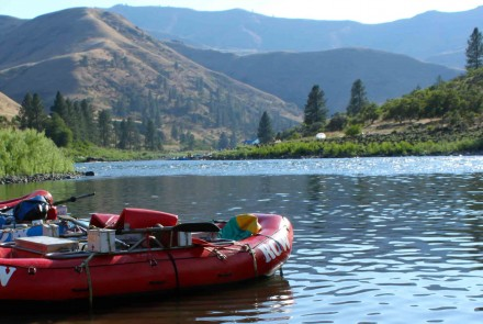 Rolling on the River: A Gluten-Free Whitewater Trip Through Idaho
