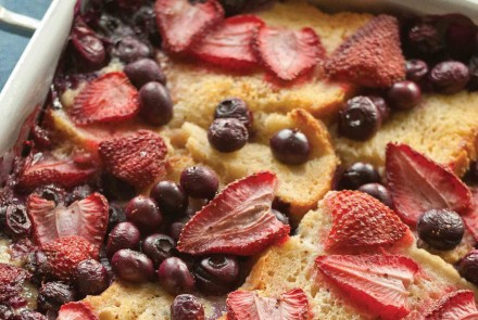 Baked Berry French Toast