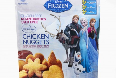New Disney's Frozen-Themed Chicken Nuggets Are Gluten Free