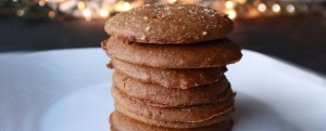 Breads From Anna® Gluten-Free Orange Ginger Molasses Cookie Recipe