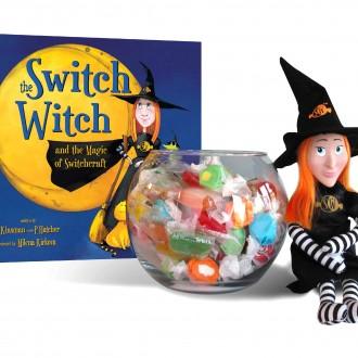 Switch Witch Toy + Book Set