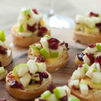 Honey Apple Bruschetta
