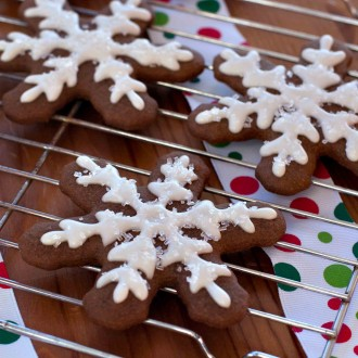 Allergen-Friendly Gingerbread Cookies