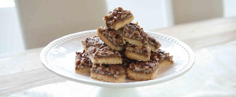Gluten-Free Pecan Pie Bars