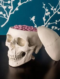 Skull Candy Jar