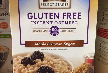 New Quaker Gluten-Free Instant Oatmeal
