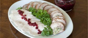 Brined Turkey Breast, Swedish style