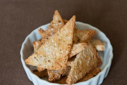 Parmesan Melba Toast