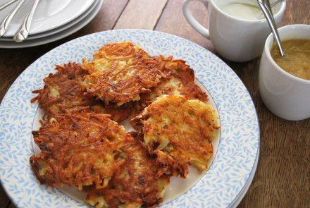 How to Make Gluten-Free Latkes
