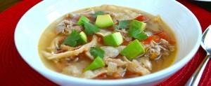 Hearty Sunkist® Lemon Chicken Tortilla Soup
