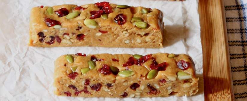 Chickpea, Cherry & Chia Power Bars