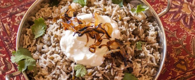 Arabic Lentils & Rice (Mujaddara)