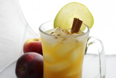Spiced Cider Cocktail