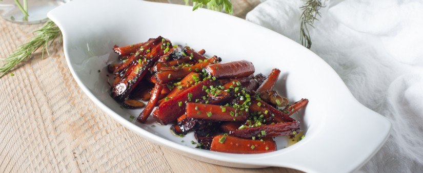 Honey-Almond Glazed Carrots