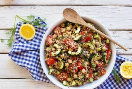 Gluten-Free Quinoa Summer Salad