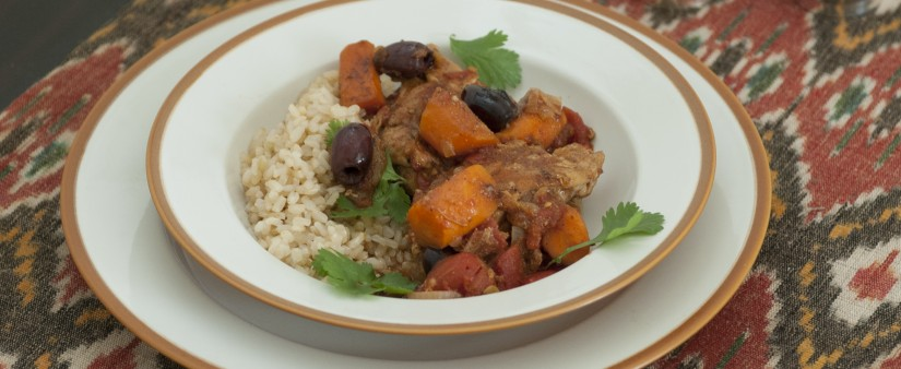 Braised Chicken & Carrots with Cumin