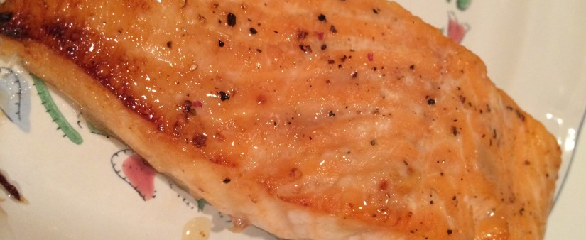 Maple-Glazed Salmon