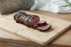 Peppercorn-Crusted Beef Tenderloin