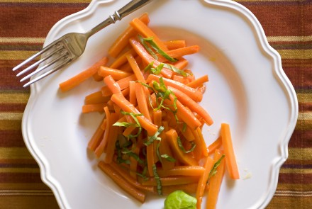 Glazed Carrots with Marsala
