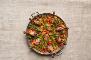 Gluten-Free Paella with Chicken (Arroz con Pollo)