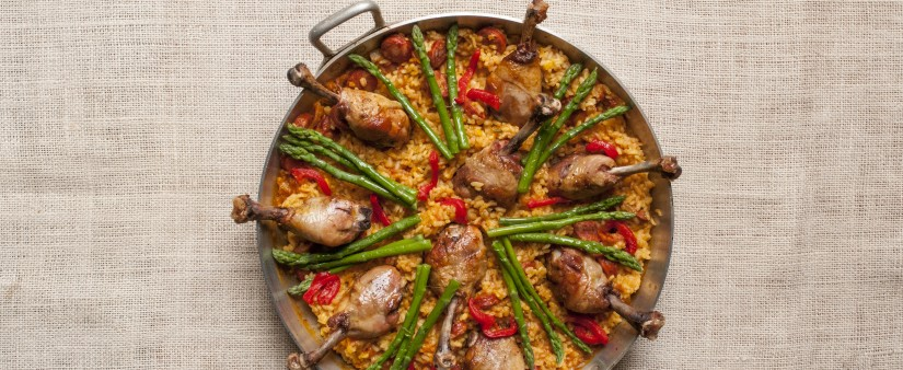 Gluten-Free Paella with Chicken (Arroz con Pollo)