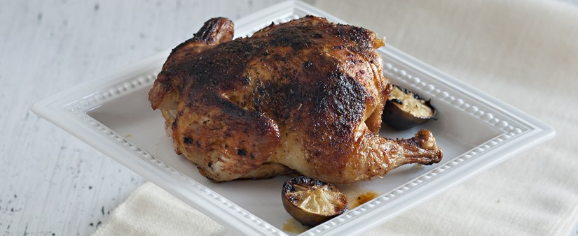 Gluten-Free Roast Chicken with Peruvian Flavors