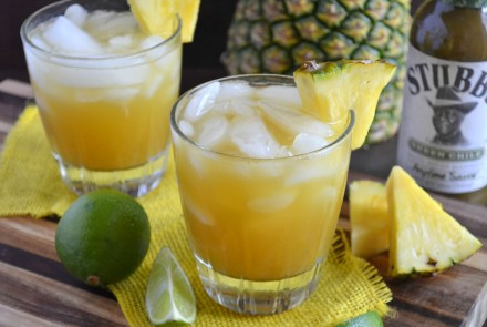 Pineapple Green Chile Margarita