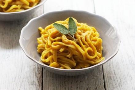 Creamy Pumpkin and Sage Pasta