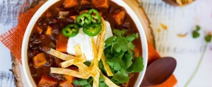 Sweet Potato Black Bean Chili