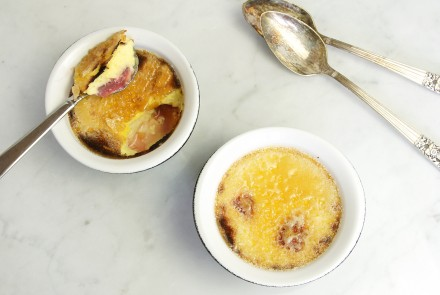 Gluten-Free Crème Brûlées with Summer Fruit