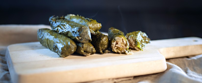 Warm Grape Leaves
