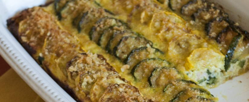 Gluten-Free Zucchini Gratin