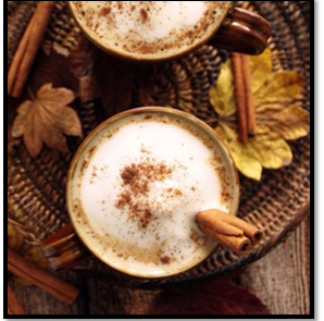 Leaner Creamer Infused Cinnamon Latte