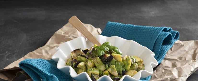 Grilled Pesto Veggie Blast