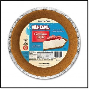Midel pie crust framed